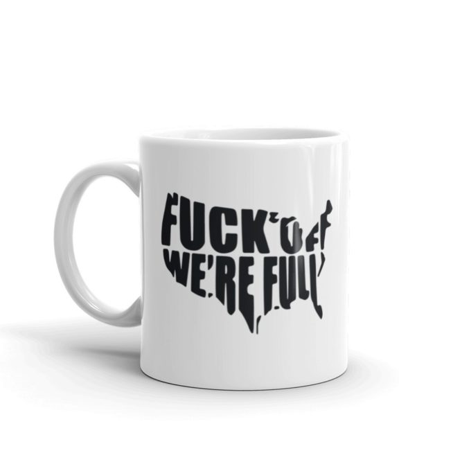 Anti Illegal Immigration Mug