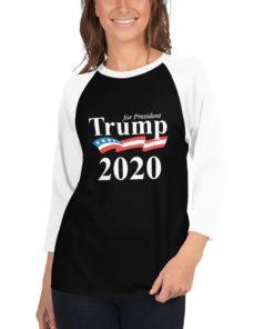 Trump 2020 Raglan Shirt