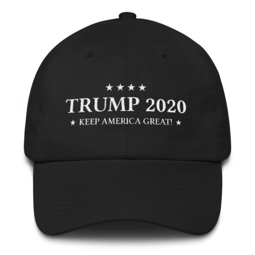 Trump 2020 Keep America Great Black Hat