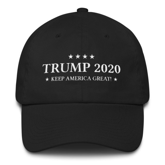 Trump 2020 Keep America Great Black Hat