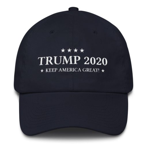Trump 2020 Keep America Great Navy Hat