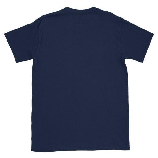 Back Flat Navy Classic T-Shirt