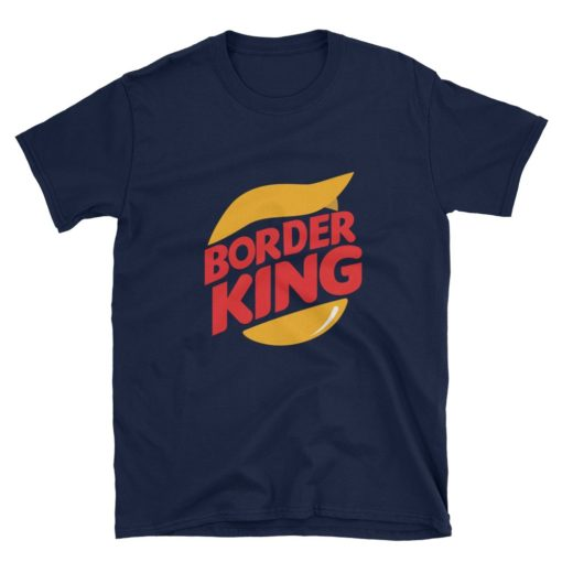 Border King Trump Navy T-Shirt
