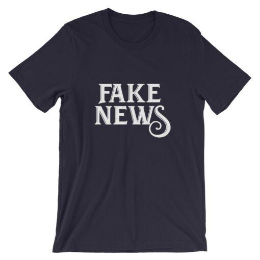 Fake News navy T-Shirt