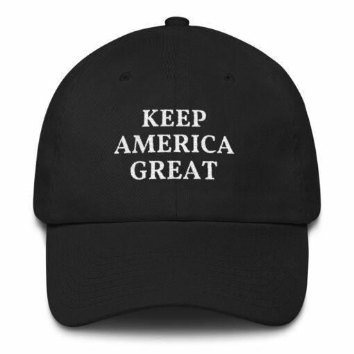 keep america great pro trump hat