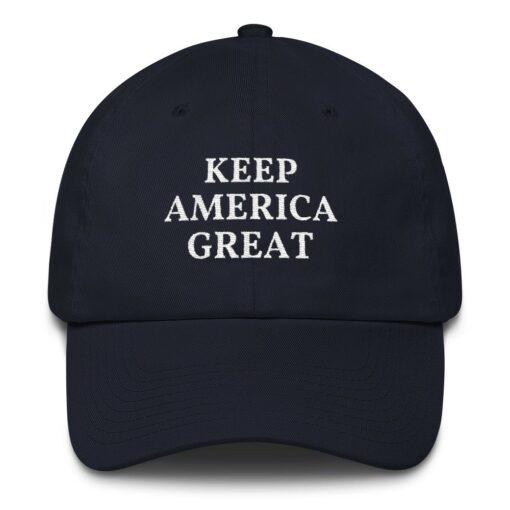 Keep America Great Pro Trump Navy Hat