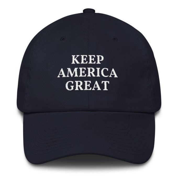 Keep America Great Pro Trump Navy Hat