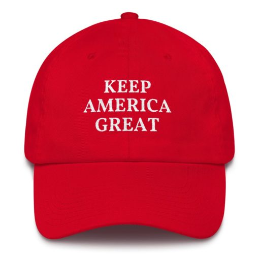 Keep America Great Pro Trump Red Hat