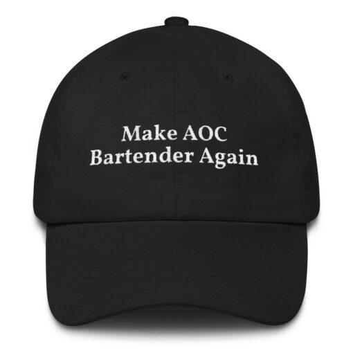 Make AOC Bartender Again Black Hat