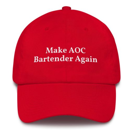 Make AOC Bartender Again Red Hat