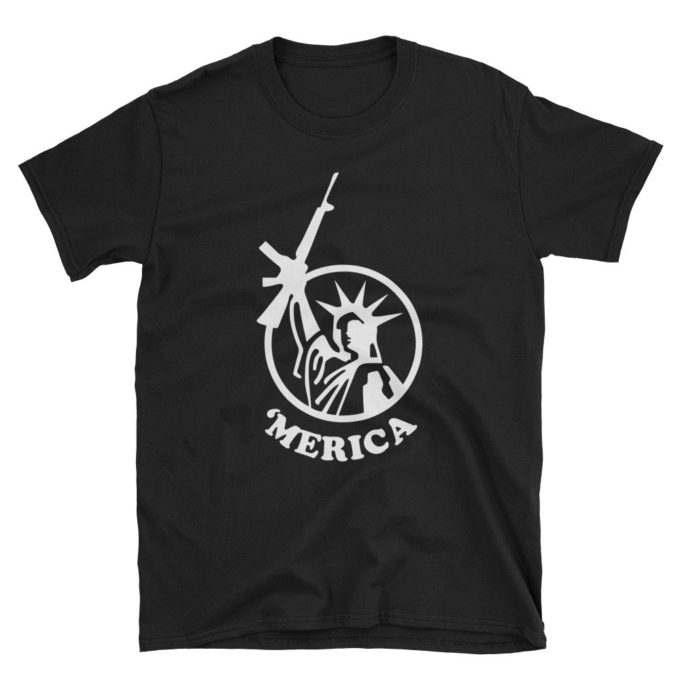 Merica Liberty and Guns T-Shirt