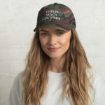 This Is MAGA Country Green Camo Hat