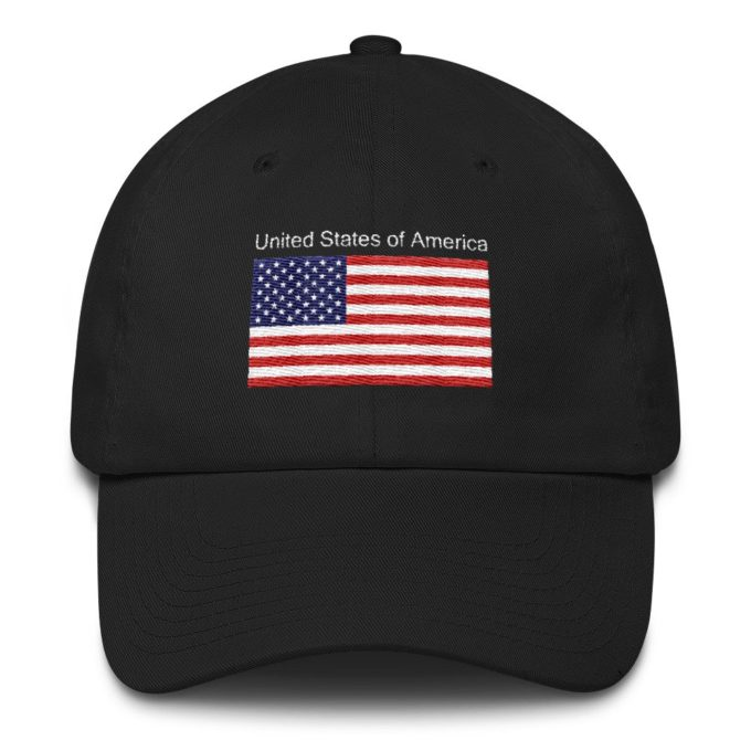 Patriotic Hat With American Flag