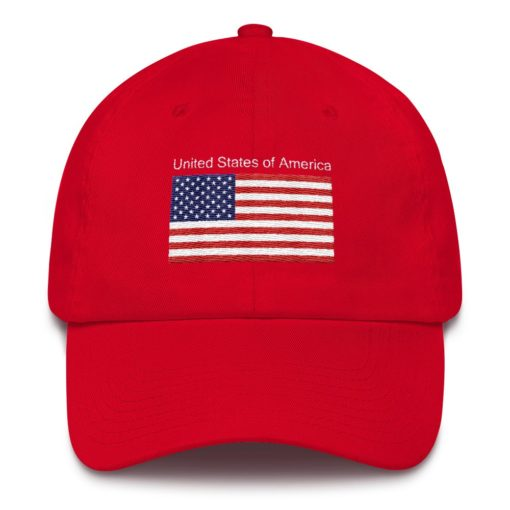 United States Flag Red Hat