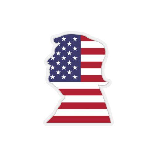 President Trump die-cut sticker