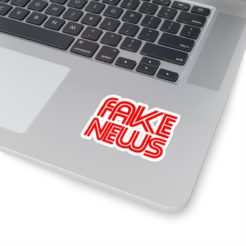 cnn fake news sticker