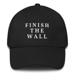 finish the wall hat