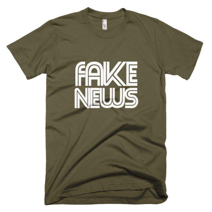 CNN Fake News premium t-shirt