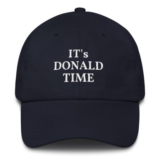 it's donald time trump funny hat