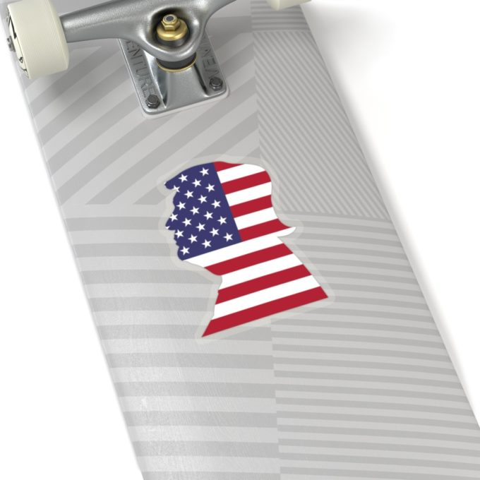 Trump 6x6 Transparent Die Cut Sticker