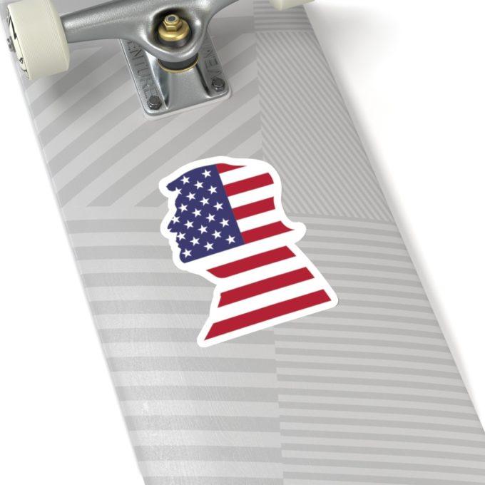 Trump 6x6 White Die Cut Sticker
