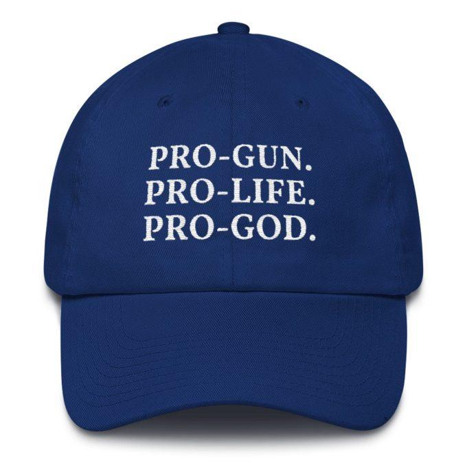 pro gun pro life pro god hat
