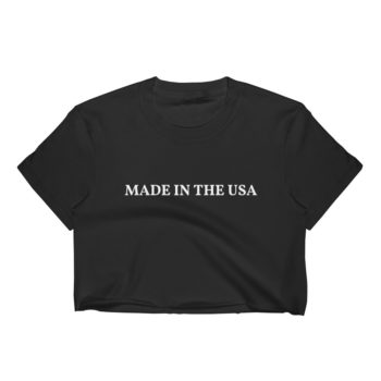 Patriotic Women's Crop Top