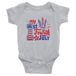 My First 4th of July Infant Bodysuit