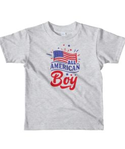 This All American Boy kids t-shirt is the perfect shirt for your little one this 4th of July. Teach your kid to be proud of being America, the land of the free and the brave.