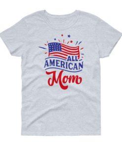 American Mom Ladies T-Shirt