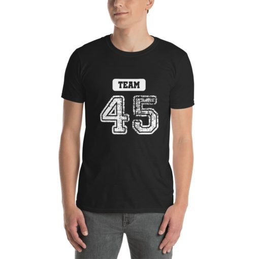 team 45 pro trump 2020 t-shirt