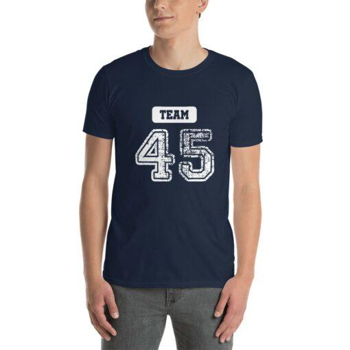 team 45 pro trump 2020 t-shirt