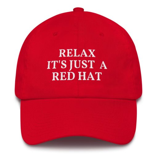 Funny Red MAGA Hat