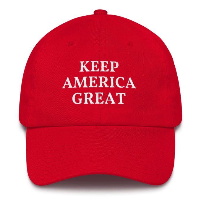 Trump 2020 Keep America Great Red Hat