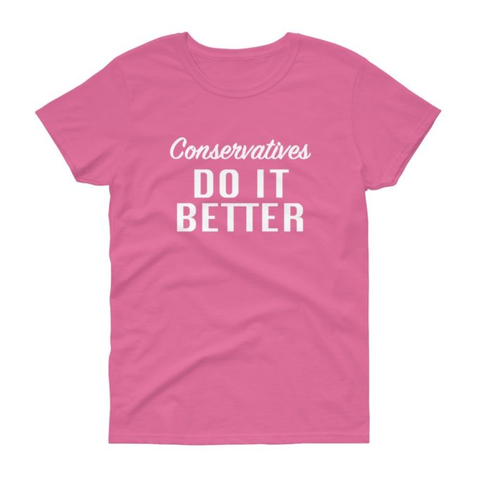 Funny Conservative Women's T-Shirt