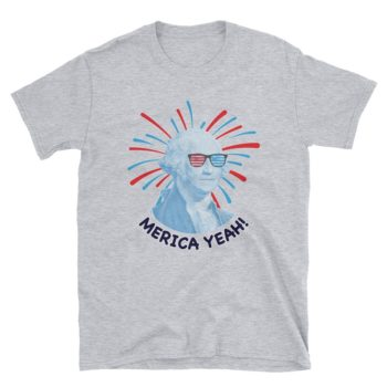 Independence Day George Washington T-Shirt