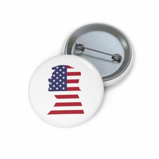 Trump Face Pin Button