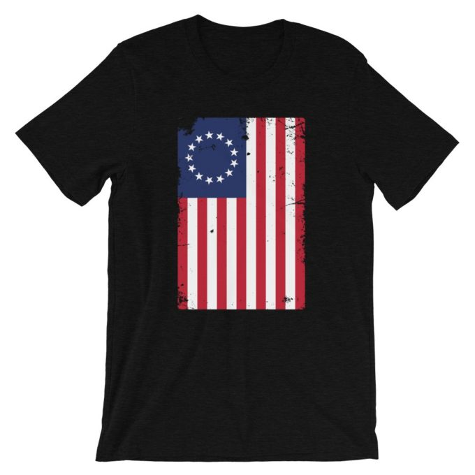 Betsy Ross Flag Distressed T-Shirt