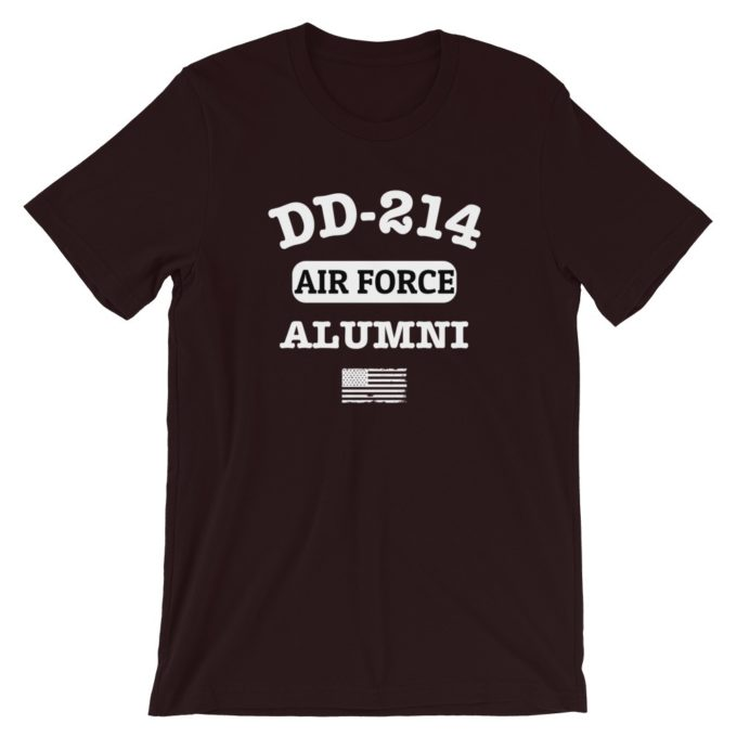 Personalized DD-214 Alumni T-Shirt
