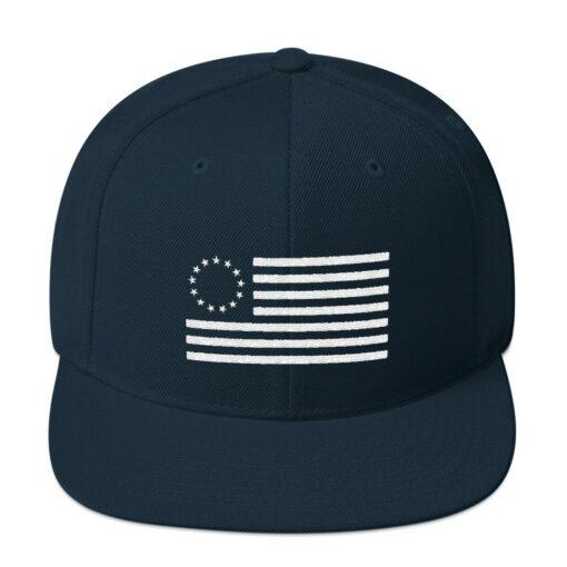 Betsy Ross Flag Snapback