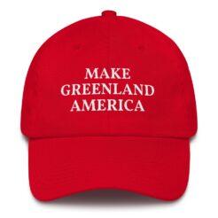 Make Greenland America Hat