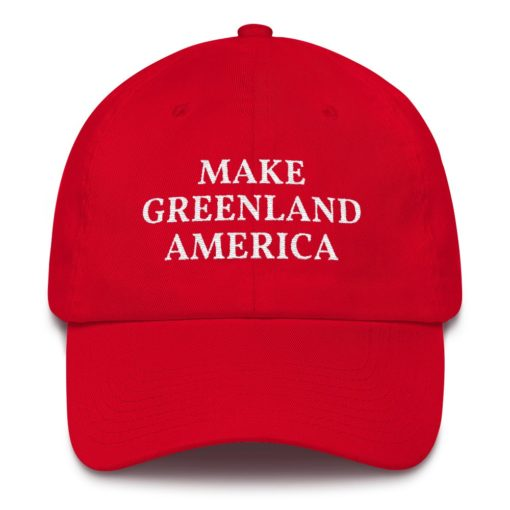 Make Greenland America Hat