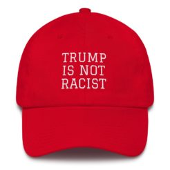 Trump Is Not Racist Hat