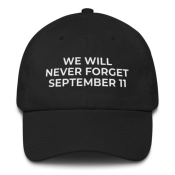9/11 Never Forget Hat