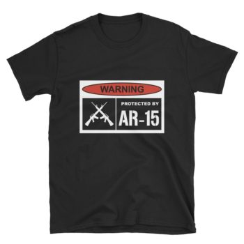 Protected By AR-15 T-Shirt