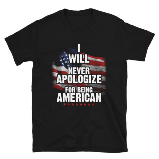 Never Apologize for Being American