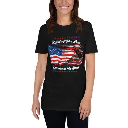 Veteran Land of The Free T-Shirt
