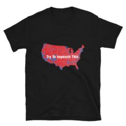 Trump Try To Impeach This Map T-Shirt