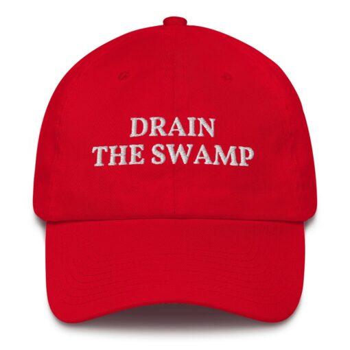 Drain The Swamp Pro Trump Hat