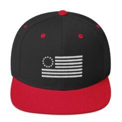 Betsy Ross Flag Snapback Hat
